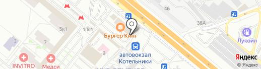 Кафе-шашлычная на карте Котельников