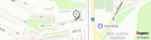ГНИ, Государственная налоговая инспекция в Червоногвардейском районе на карте Макеевки
