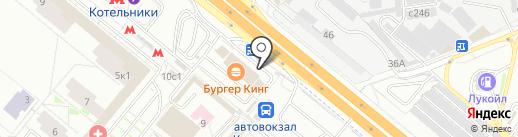 Гиродико на карте Котельников