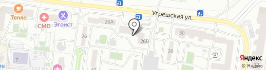 Лантарес на карте Дзержинского