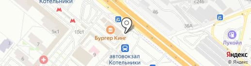 Eiffel на карте Котельников
