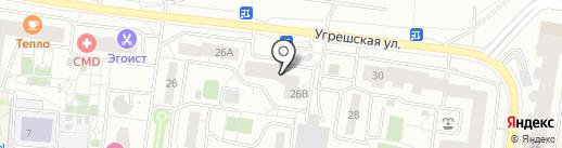 Управление городского хозяйства на карте Дзержинского