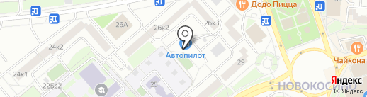 Леоавто на карте Москвы