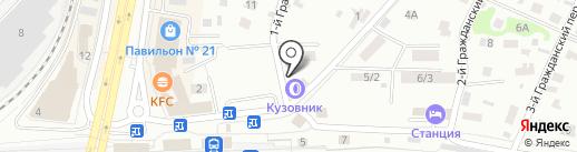 Кузовник на карте Королёва