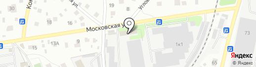 Стяжки-Полусухие на карте Королёва
