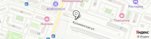 Ава хлеб на карте Котельников