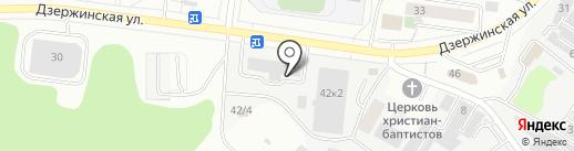 Мосэнергосбыт на карте Дзержинского