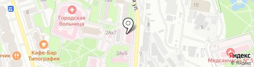 Станция скорой медицинской помощи на карте Реутова
