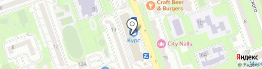 Мобильные штучки на карте Реутова