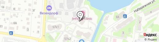 Беринг сервис на карте Пушкино