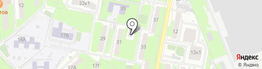 Реутовское городское казачье общество на карте Реутова