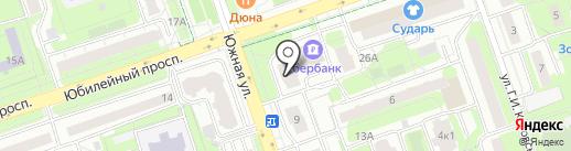 Сбербанк России на карте Реутова