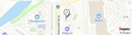 Глория на карте Котельников