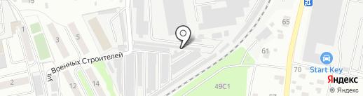 Заря на карте Королёва