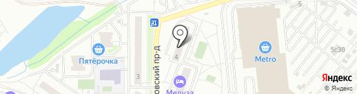 Anlace Studio на карте Котельников