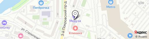 Саада-Текс на карте Котельников