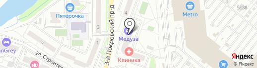 Автоконсульт на карте Котельников