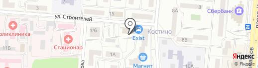 Скульптор Тела на карте Королёва