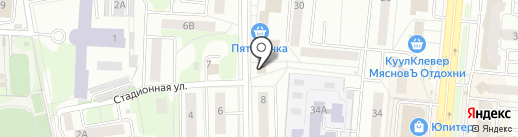 Викинг и К на карте Королёва