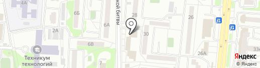 Магнит у Дома на карте Королёва