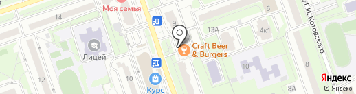 Мастерская по ремонту обуви на карте Реутова