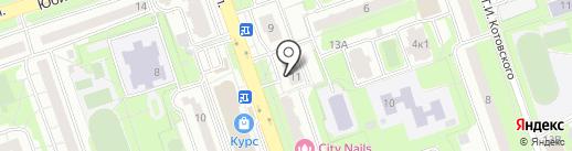 Мясной магазин на Южной на карте Реутова