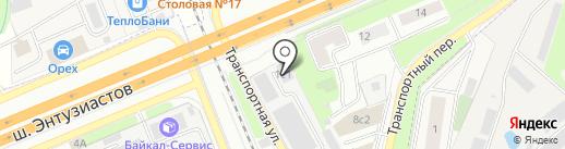3D ТЕМа на карте Реутова