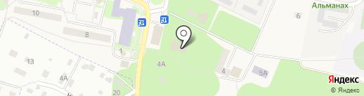 Айкидо Кузница на карте Лесных Полян