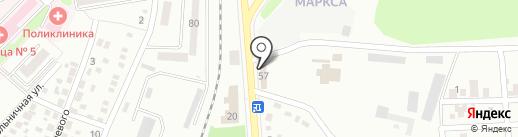 Авто Хаус, магазин на карте Макеевки