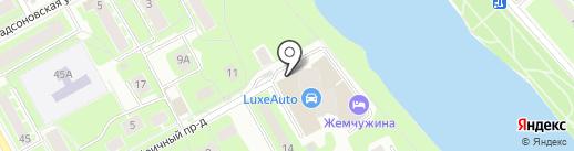 MaxiFit на карте Пушкино