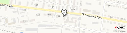 Ясиноватская межрайонная прокуратура на карте Ясиноватой