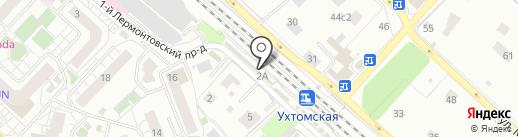 Магазин кондитерских изделий на карте Люберец