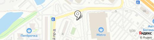 Синди-М на карте Котельников