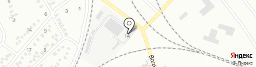 Продовольственный магазин на ул. Ушакова на карте Макеевки
