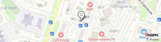 Зашторркой на карте Люберец