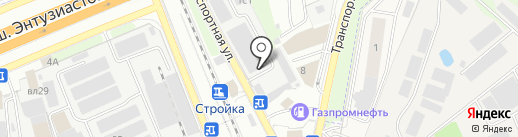 Шина JСB на карте Реутова