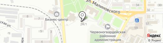 Cherry на карте Макеевки