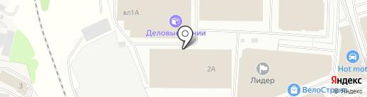 Торговый Дом Тинко на карте Балашихи