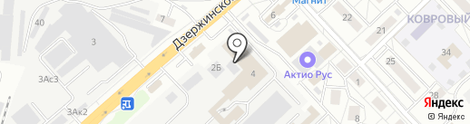 Актио Рус на карте Котельников