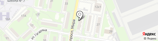 Бухинхаус на карте Реутова