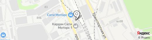 Citymotors на карте Реутова