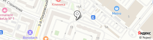 Тандырный дворик на карте Котельников