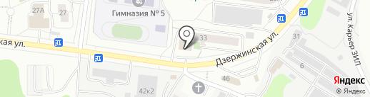 Городское отделение полиции на карте Дзержинского