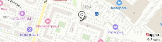 Мой город на карте Котельников