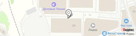 Дилл на карте Балашихи