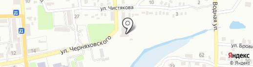 ТТТ на карте Макеевки