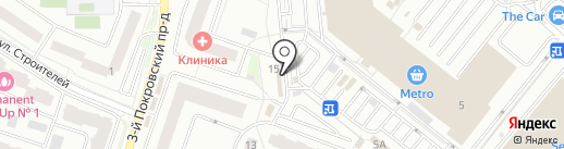 Рыбная лавка на карте Котельников