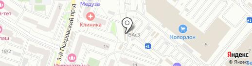Салон красоты на карте Котельников