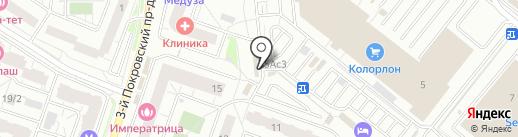 Продуктовый магазин на карте Котельников