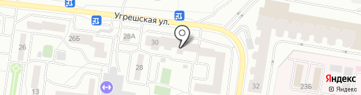 Угреша нетворк на карте Дзержинского